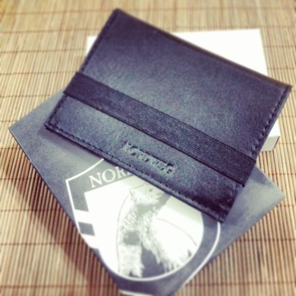 carteira de couro Nordweg