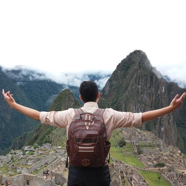 No topo da coroa Inca. Sem ceder e nem falhar essa poderosa aliada me acompanha em todas as aventuras! #nordweg