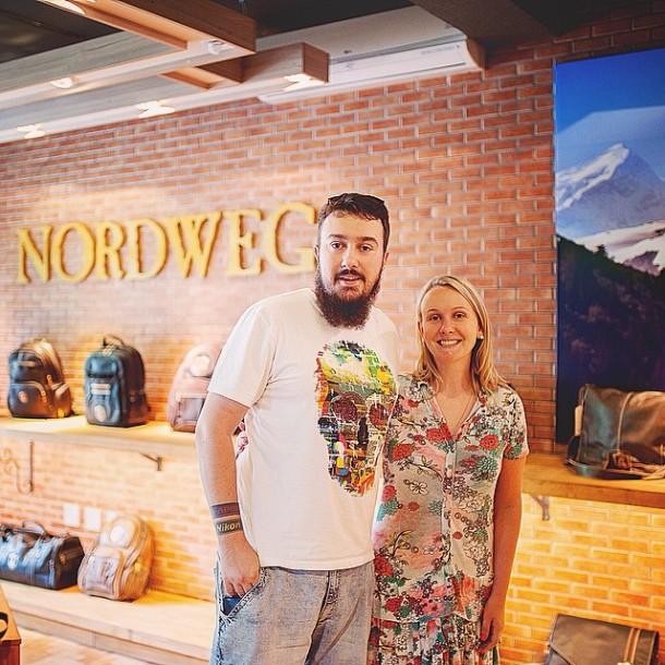 Tive a sorte de passar na frente da @nordweg enquanto viajava... Amamos a loja dos caras! Recepção e ambiente incrível!!! #Nordweg